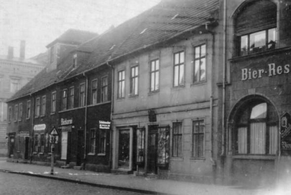 003-Das Schwabehaus um 1920